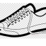 tennis shoe clipart sports shoes