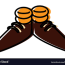 shoes cartoon royalty free vector image