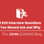 exit interview questions you should ask