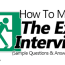 how to master the exit interview