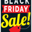 black friday sale red tag