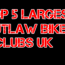 largest outlaw motorcycle clubs