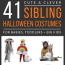 creative sibling halloween costume ideas for babies toddlers and big kids