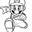 super mario bros drawings coloring home